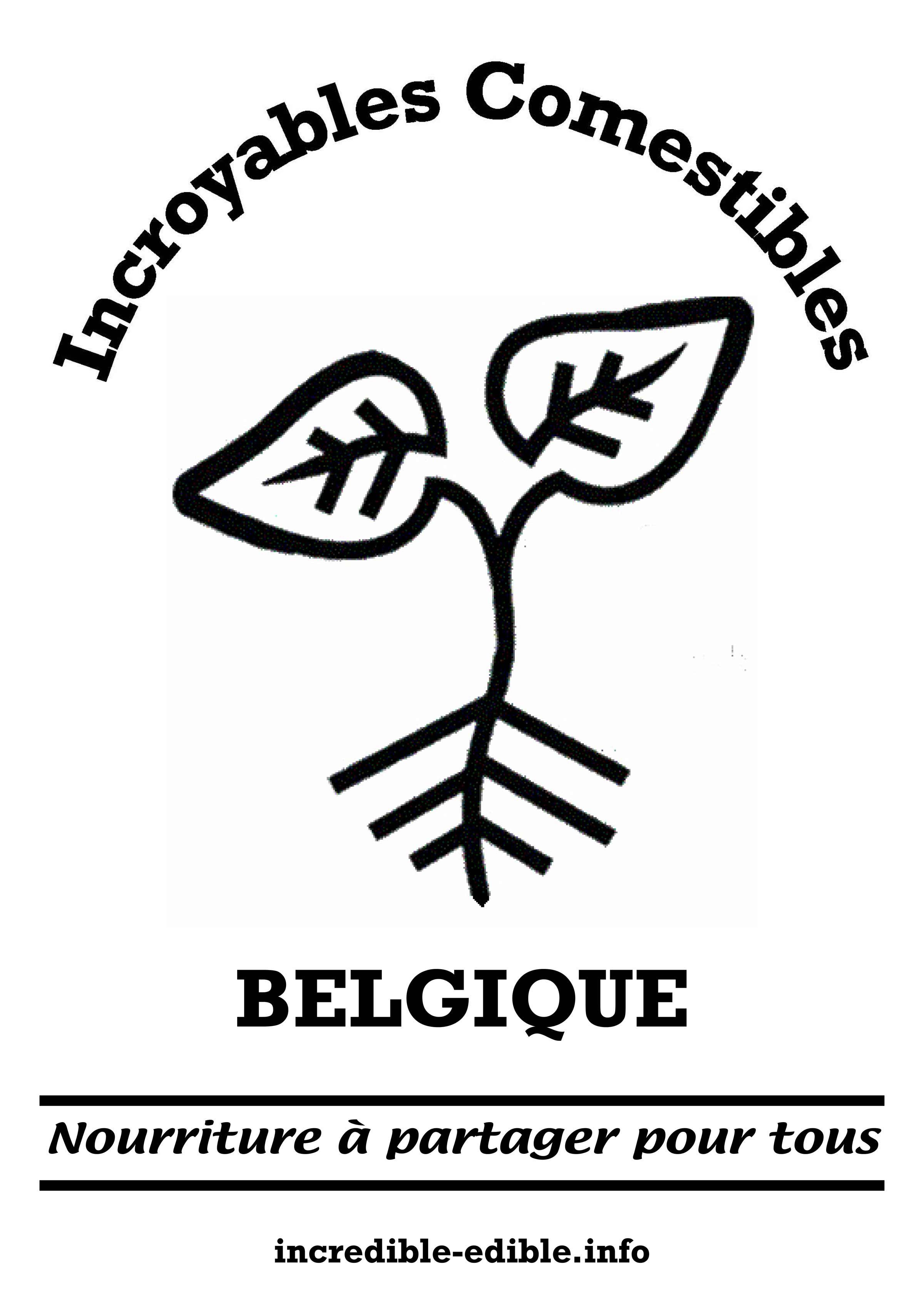 Logo Incroyables Comestibles Belgique
