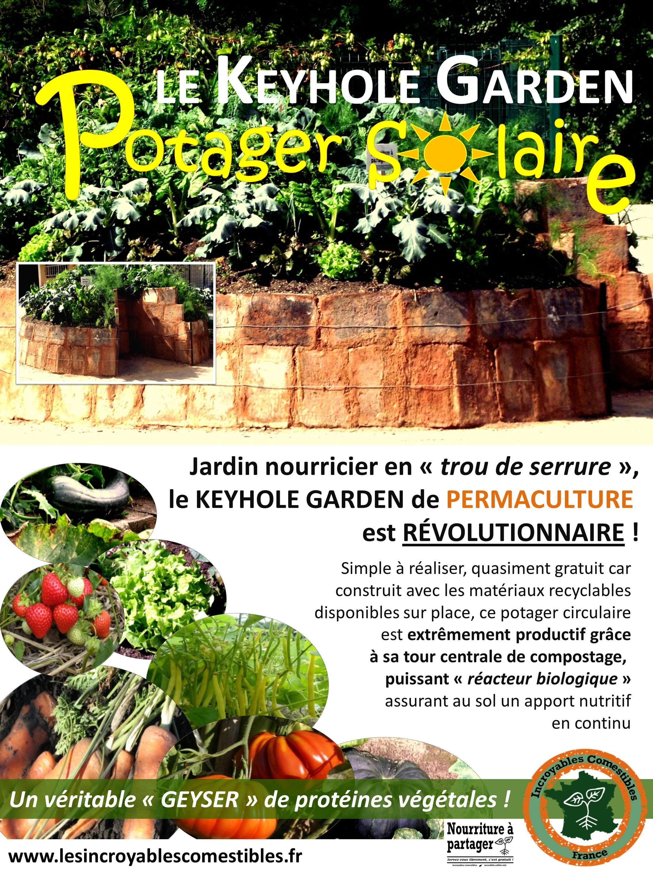 LE KEYHOLE GARDEN, POTAGER SOLAIRE ! - Les Incroyables Comestibles ...