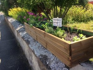 Jardinière / bac Incroyables Comestibles Danjoutin