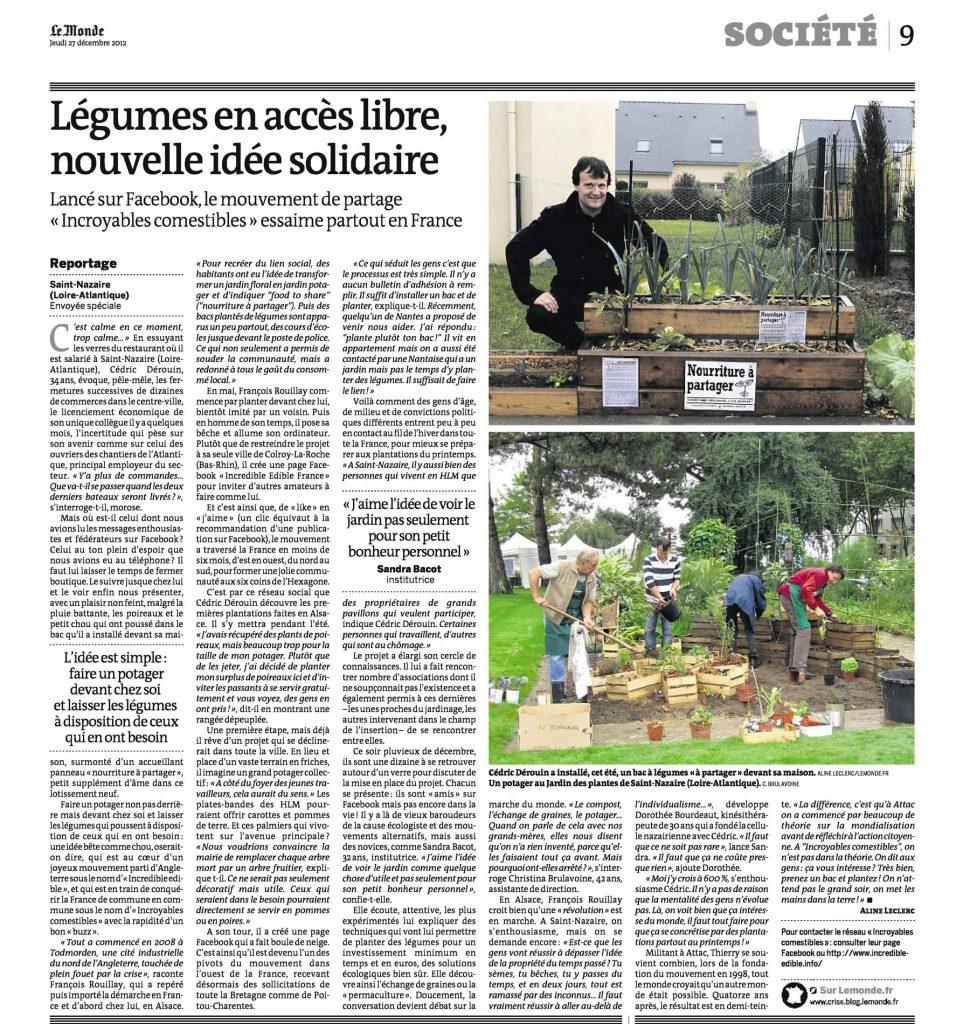 Le Monde -Presse