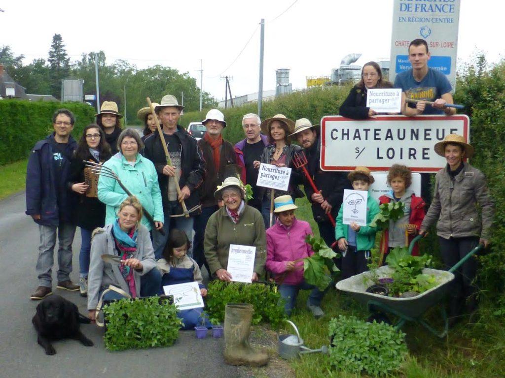 Les Incroyables Comestibles à Châteauneuf-sur-Loire (Loiret)