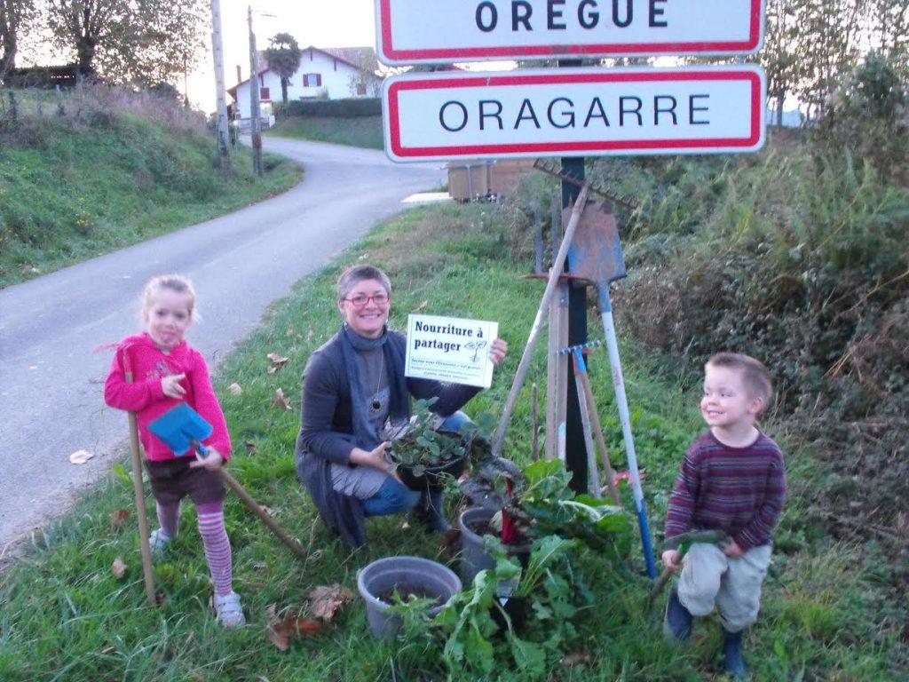 Les Incroyables Comestibles au Pays Basque à Orègue