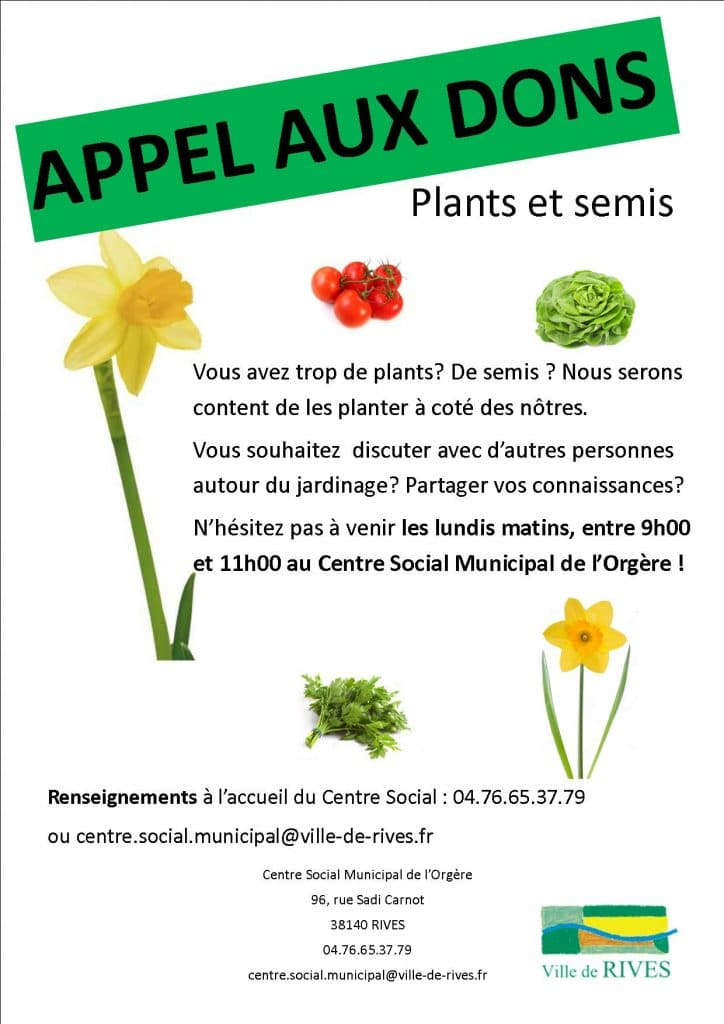 IC-Rives-Appel aux dons jardinage