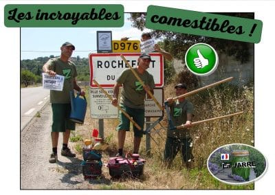 Les Incroyables Comestibles de Rochefort sur Gard