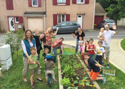 Enfants Au jardin partagé