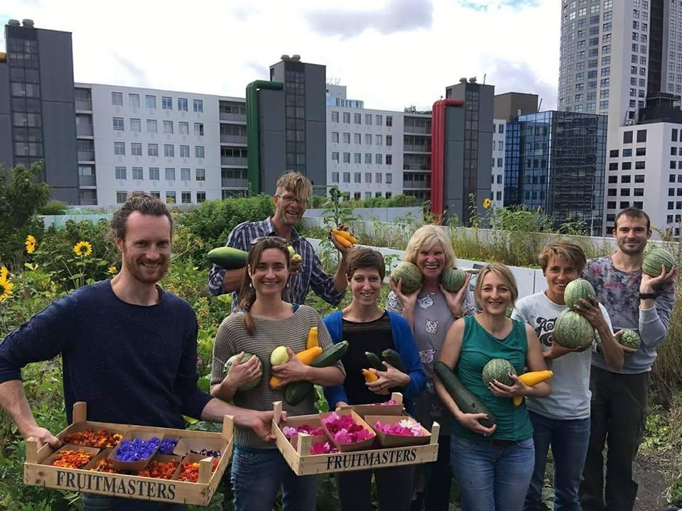 Dakakkers Rotterdam photo de groupe
