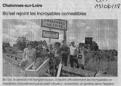 IC Chalonnes - Article Ouest France